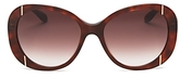 Moschino Oversized Quilted Sunglasses, 56mm