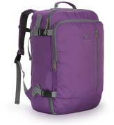 Hynes Eagle 38L Flight Approved Weekender Carry on Backpack Purple - Size 33x20x50cm