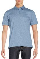Robert Barakett Mouline Cotton Polo Shirt