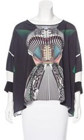 Clover Canyon Long Sleeve Printed Blouse