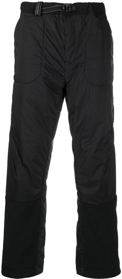 and wander Padded Nylon Trousers