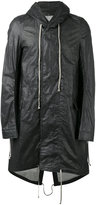 Rick Owens high low hem raincoat - men - Cotton - S
