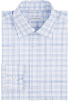 Etro Men's Plaid Dress Shirt-LIGHT BLUE