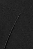 Victoria Beckham Chain-embellished crepe midi dress