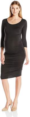 Nom Maternity Women's Maternity Ellie Ruched Dress