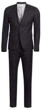 Thom Browne Grosgrain Tipped Super 120s Twill Wool Tuxedo