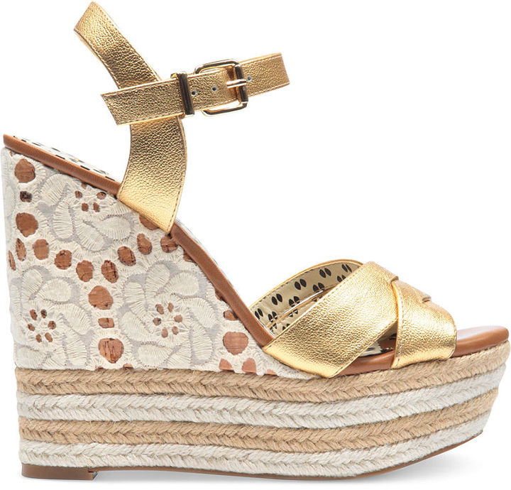 Jessica Simpson Shoes, Carson3 Platform Wedge Sandals