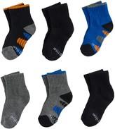 Stride Rite Baby / Toddler Boy 6-pk. Dillon Pop Color Quarter Crew Socks