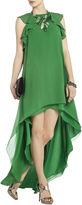 BCBGMAXAZRIA Fais Silk High-Low Dress