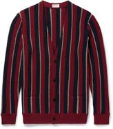 Saint Laurent - Striped Wool-blend Cardigan