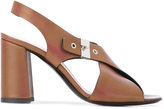 Premiata chunky high-heel sandals - women - Calf Leather/Leather - 38.5
