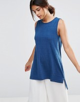 NATIVE YOUTH Indigo Tunic Top