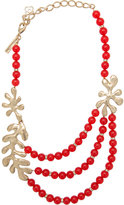Oscar de la Renta sea tangle necklace