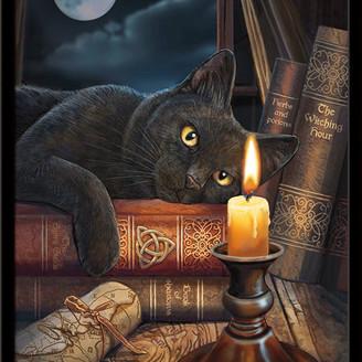 Parker Trends International Lisa The Witching Hour Poster, Black Framed Version