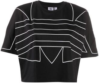 adidas trefoil logo cotton T-shirt