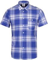 Franklin & Marshall Hollywood Blue Single Check Shirt