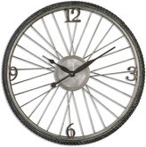 Asstd National Brand Spokes Wall Clock