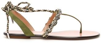 Aquazzura Surf Flat Sandals
