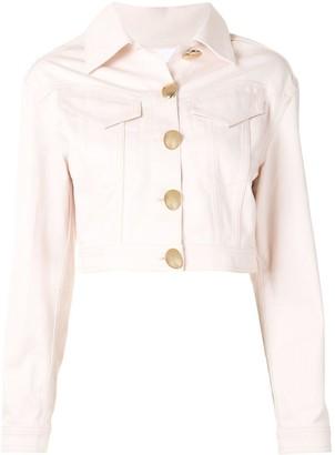 Acler Hiller cropped denim jacket