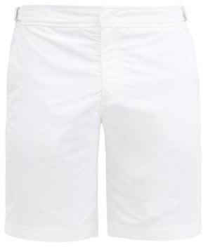 Orlebar Brown Dane Ii Low-cut Swim Shorts - White
