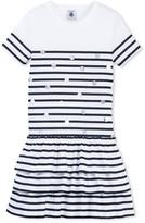Petit Bateau Girls short-sleeved striped dress