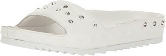 Ash Women's Unique Flat Sandal White 35 EU/5 M US