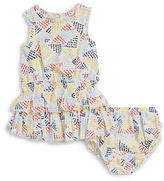 Splendid Baby Girls Tiered Dress and Bloomers Set