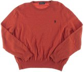 Polo Ralph Lauren Mens Merino Wool Long Sleeves Pullover Sweater Orange XXL