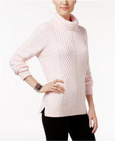 Karen Scott Ribbed Turtleneck Sweater, Only at Macy's