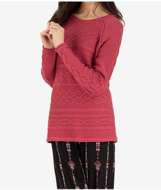 Tribal Cable Knit Sweater