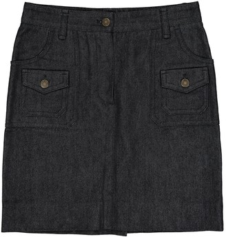 Louis Vuitton Navy Cotton Skirts