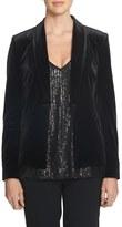 1 STATE 1.State Velvet Tuxedo Jacket