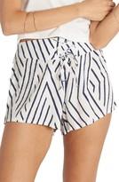 Billabong Women's Sunny Eyes Lace-Up Woven Shorts