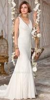 Camille La Vie Lace V-Neck Wedding Dress