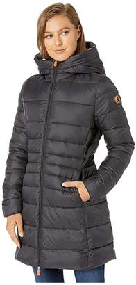 Save The Duck Giga 9 Puffer Coat with Sherpa Lining