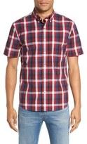 Jack Spade 'Caulfield' Trim Fit Plaid Sport Shirt