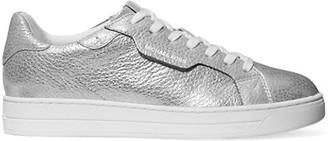 MICHAEL Michael Kors Keating Metallic Leather Sneakers