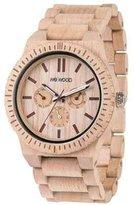 WeWood Kappa Beige/Amaranto Wooden Watch