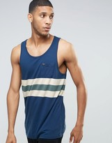 Rvca Barlow Striped Tank Vest