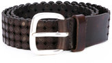 Orciani textured belt - men - Leather - 85