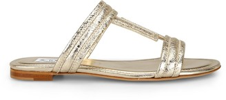 Tod's Double T Front Strap Sandals