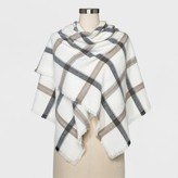 A New Day Women's Scarf - A New Day Cream Plaid