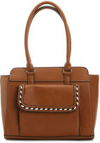 Kelly & Katie Women's Whipstich Satchel -White
