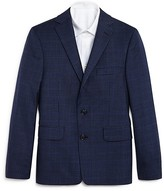 Michael Kors Boys' Wool Check Sport Coat - Sizes 8-18