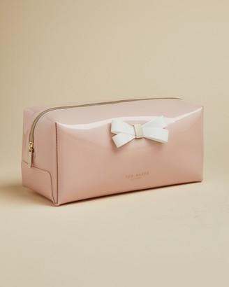 Ted Baker FIBEE Bow detail wash bag