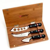 Wusthof Classic 3-Piece Cheese Knife Set