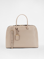 DKNY City Zip Large Leather Duffle
