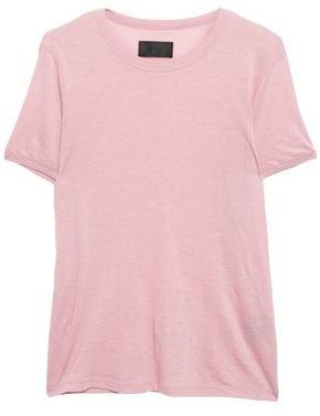 RtA Cotton And Cashmere-blend Jersey T-shirt