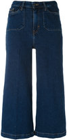 Calvin Klein Jeans cropped wide-leg jeans - women - Cotton/Polyester/Spandex/Elastane - 25