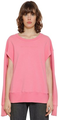 MM6 MAISON MARGIELA Embroidered Cotton Sweatshirt